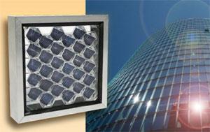 Соларни панели като пчелни пити за фасадите