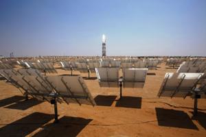 Нова 500 MW соларна централа в Калифорния