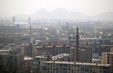 На борба срещу смога в Аншан