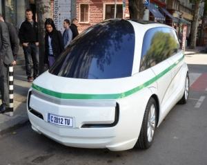 Български прототип на електрическо такси