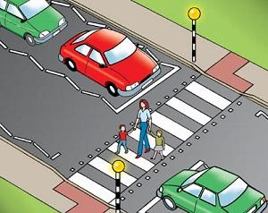 Светеща пешеходна пътека в София