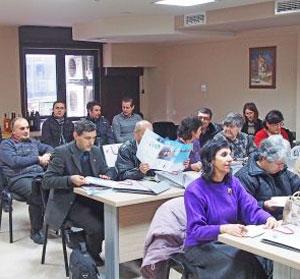 Фирма Тангра Ви кани на презентация в Бургас
