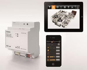 KNX - уеб сървър за визуализация и управление IP Control Center N152