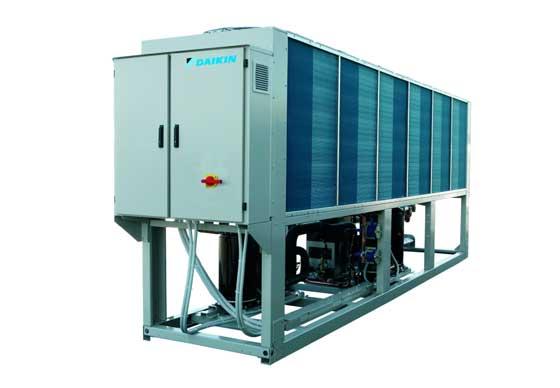 Daikin Europe обяви първата си гама големи DC инверторни водоохлаждащи агрегати и термопомпи