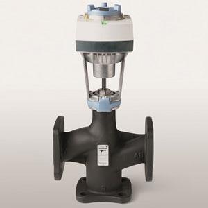 Сименс пуска на пазара ново поколение фланцови вентили Acvatix