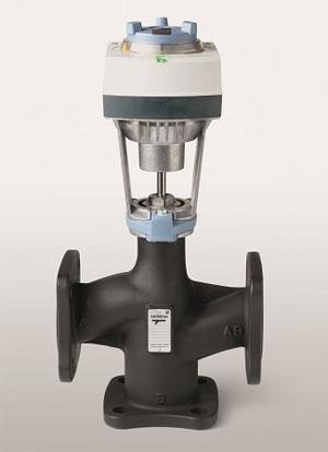 Siemens с ново поколение фланцови вентили