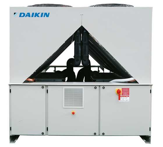 Нов клас инверторни водоохлаждащи агрегати с винтов компресор на Daikin