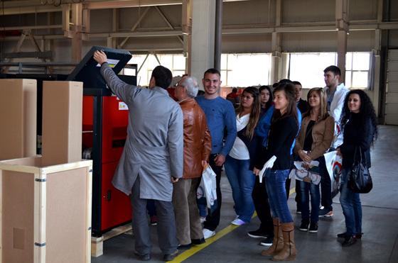 Екотерм Проект показа производствените си мощности на студенти