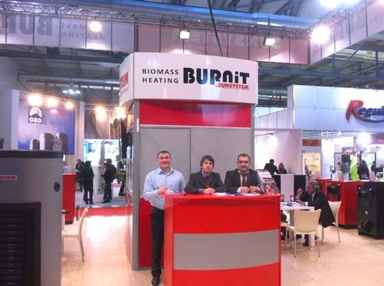 SUNSYSTEM и BURNiT на изложението в Милано