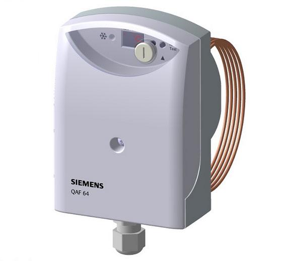 Нов защитен термостат от Siemens срещу замръзване QAF63.x-J и QAF64.x-J