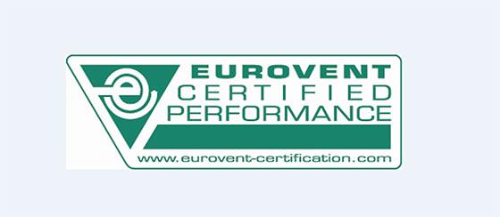 Системи VRV на Daikin, сертифицирани по Eurovent