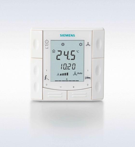 Нова серия комуникативни стайни термостати RDF301.50H от Siemens, специално разработени за приложение в хотелски стаи