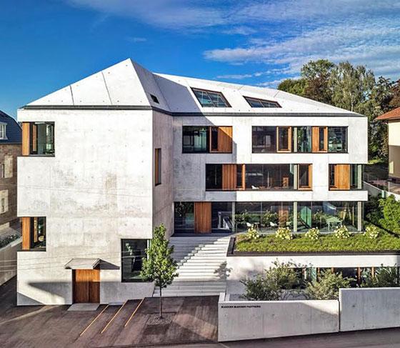 Иновативен геотермален офис в Германия взе топ-сертификат за устойчивост