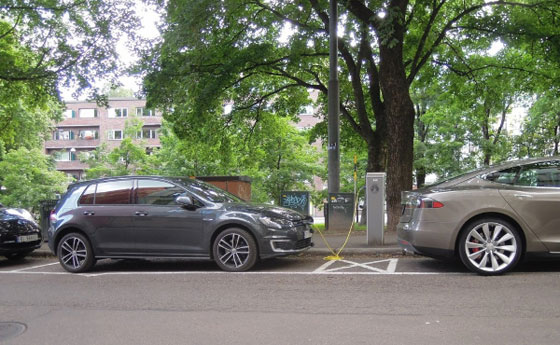 Всички нови автомобили в Норвегия ще бъдат без емисии до 2025 г.