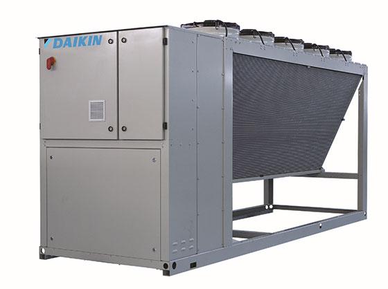 Нов компактен водоохлаждащ агрегат от Daikin