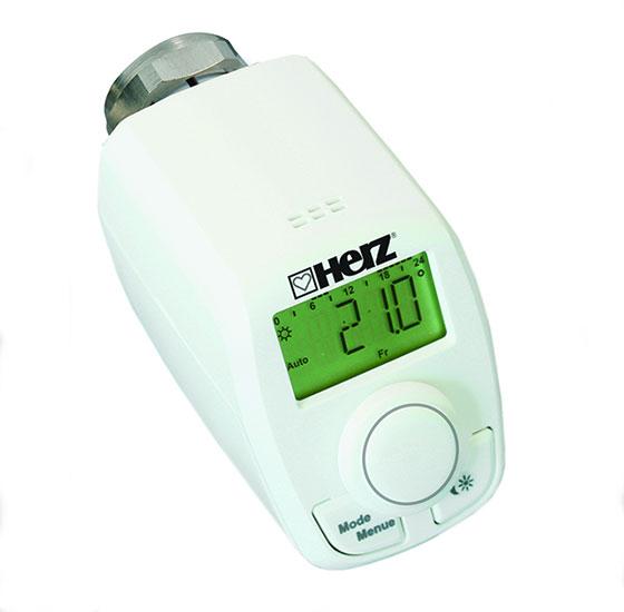Намалете разходите за отопление с новата електронна термостатна глава на HERZ