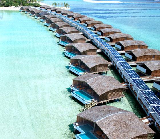 Отвори врати първият в света 100% соларен петзвезден курорт