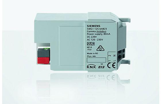 Siemens добави три нови устройства към системата за стайна автоматизация Gamma instabus