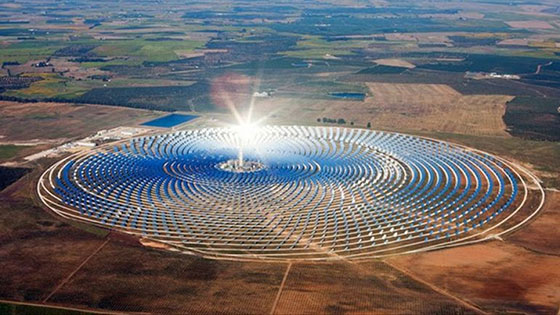 Откриха една от най-големите слънчеви централи в света