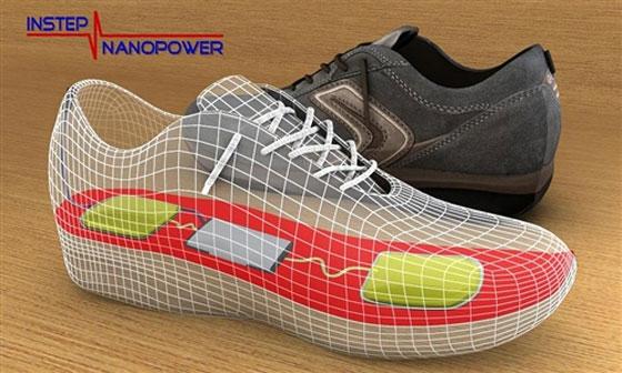 Създадоха обувки, които генерират електричество