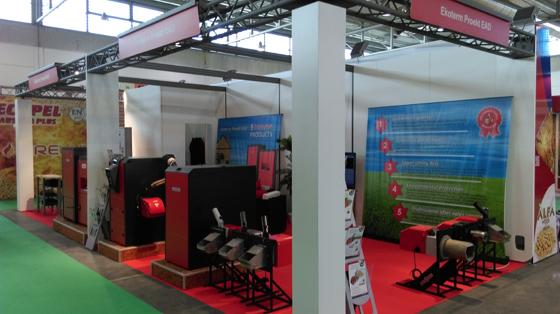 Екотерм проект представи успешно търговската марка GreenEcoTherm на изложение в Италия