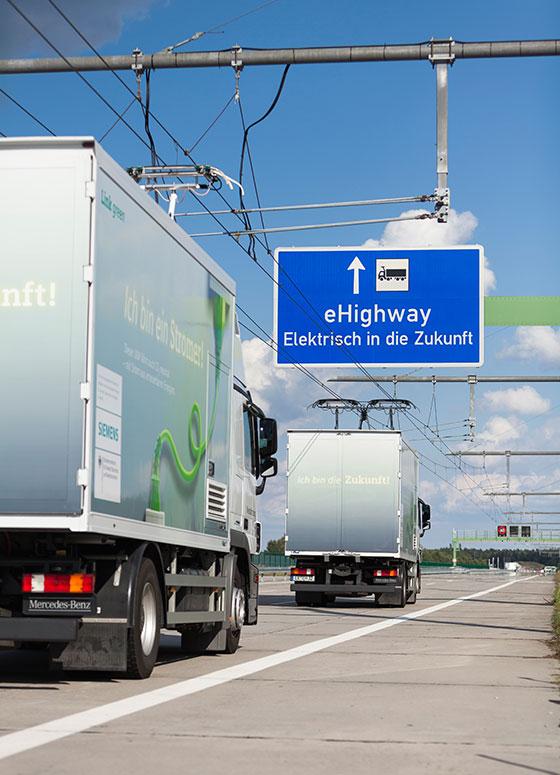 Швеция откри участък от първата електрическа магистрала в света