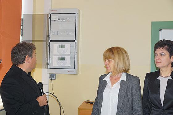 """Siemens България и """"Енерджи Ефект"""" представиха пилотен проект за енергийна ефективност в 119-о СОУ"""