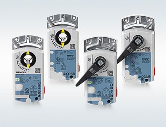 Нови модели и функции в серията изпълнителни механизми за въздух OpenAir на Siemens
