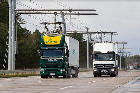 Siemens прави електрическа магистрала за хибридни камиони в Германия