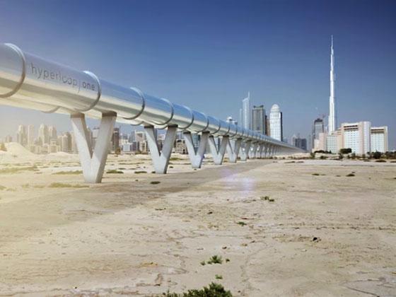 Ускориха Hyperloop до 309 км/ч