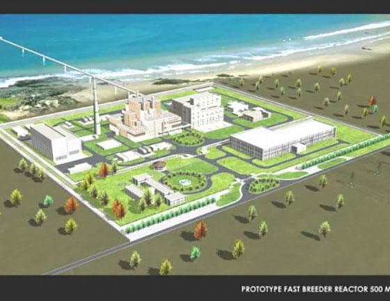 Индия строи реактор на бързи неутрони със затворен горивен цикъл